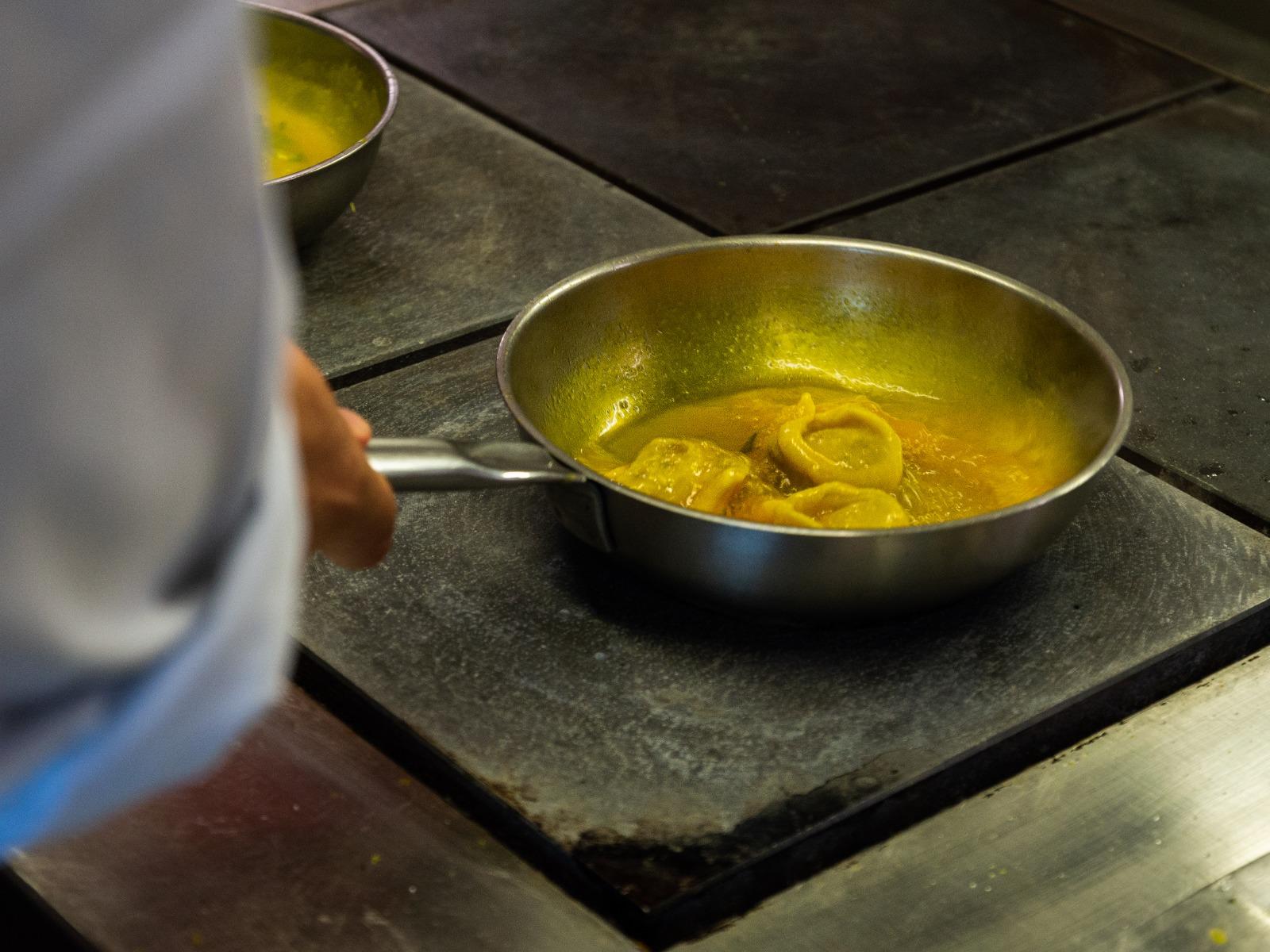 Tortellin in padella