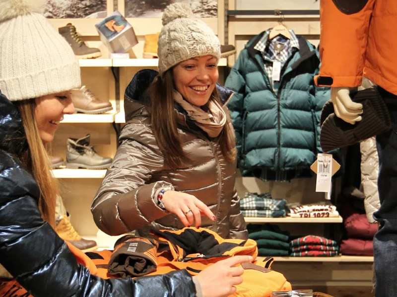 shopping livigno