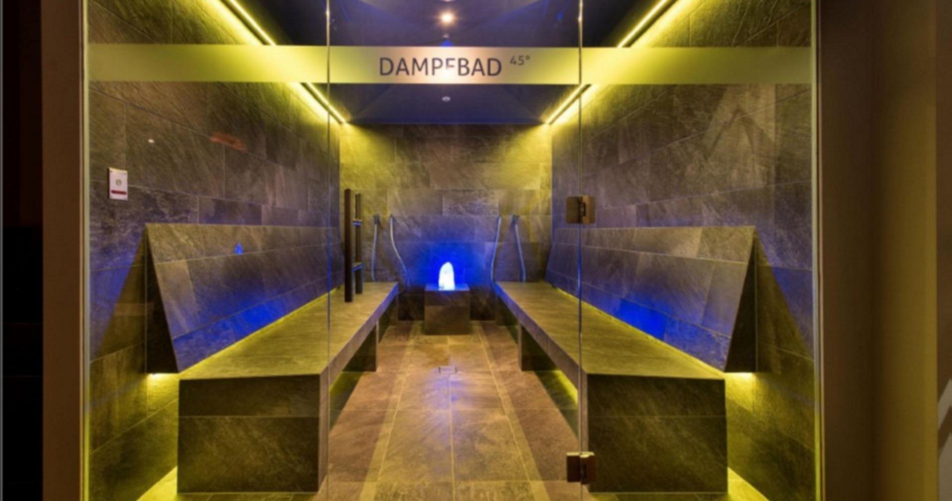 Saune e bagno di vapore sporthotel